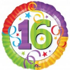 16th Birthday Balloon