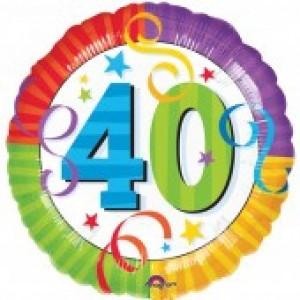 40th Birthday Balloon (option 2)