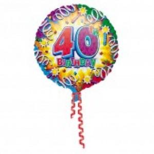 40th Birthday Balloon (option 1)
