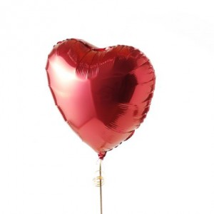 Valentine's Red Heart Balloon