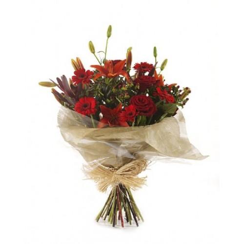 Wedding Flowers Cheltenham: Red Delight Bouquet