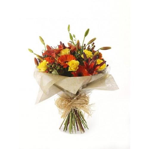 Wedding Flowers Cheltenham: Autumn Riches Bouquet